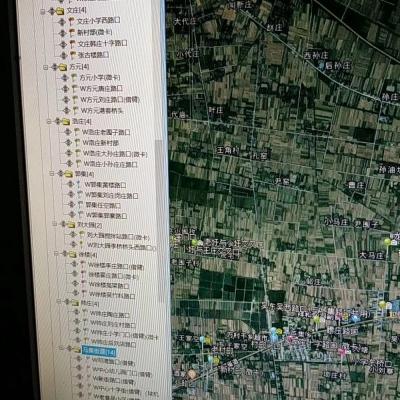 """淮滨县""""雪亮工程""""公安视频监控系统(第三期)项目前端监控设备施工案例"""